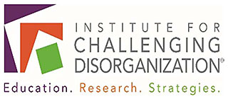 ICD Institute for Challenging Disorganization logo