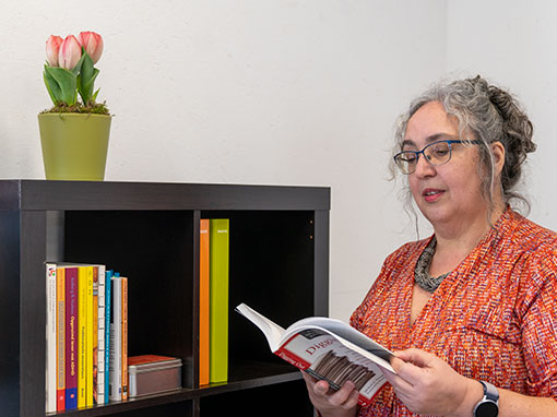 Ingrid Tielemans leest professional organizing boek